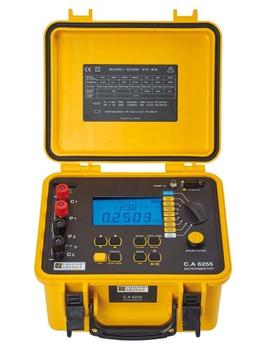 Chauvin Arnoux Micro-Ohmmeter C.A 6255