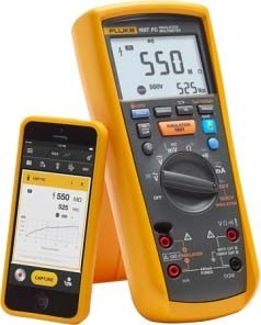 Fluke Isolationsmultimeter-Kit FLUKE-1587/MDT FC