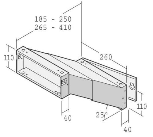 renz metallwaren einbau briefkasten 14 1 20923 vz. Black Bedroom Furniture Sets. Home Design Ideas