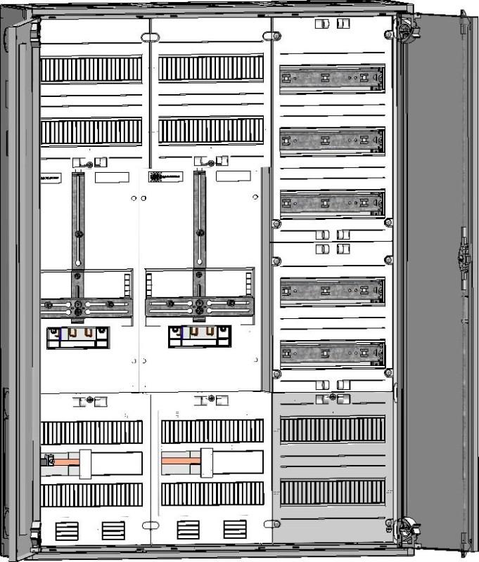 ABN Zählerschrank S37ZA120 - Elektro4000.de - Elektroartikel Online-Shop