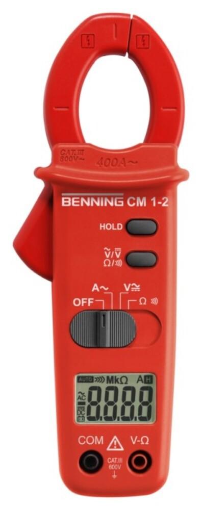 Benning Digital Stromzange CM1-2 Zangenmessgeräte 044062 Digital