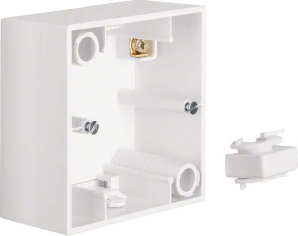 Berker Aufbau-Gehäuse anth 911512505 IP20 anthrazit Aufputzgehäuse Kunststoff