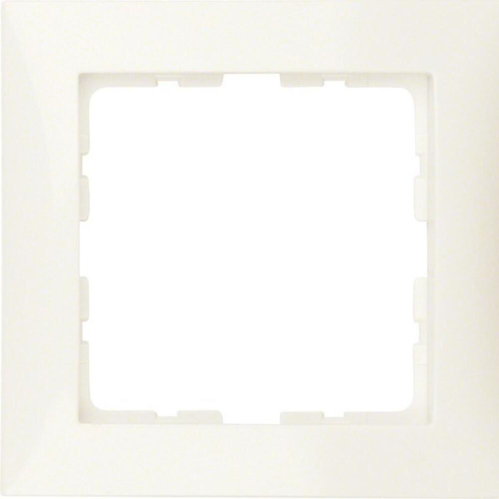 berker rahmen 1f ws gl 10118982 elektroartikel online shop. Black Bedroom Furniture Sets. Home Design Ideas