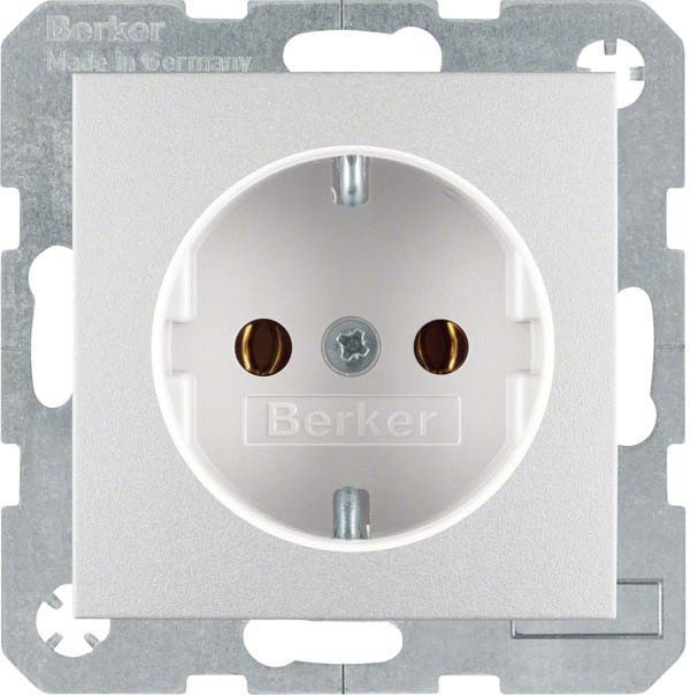 berker schuko matt 47431404 elektroartikel online shop. Black Bedroom Furniture Sets. Home Design Ideas