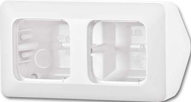 busch jaeger ap geh use 2 f eckmontage 1708 214 elektroartikel online shop. Black Bedroom Furniture Sets. Home Design Ideas