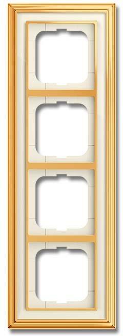 Busch-Jaeger Abdeckrahmen 1724-838-500 IP20 Rahmen Schalter Abdeckrahmen Metall