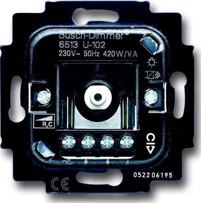 busch jaeger dimmer einsatz 6513 u 102. Black Bedroom Furniture Sets. Home Design Ideas