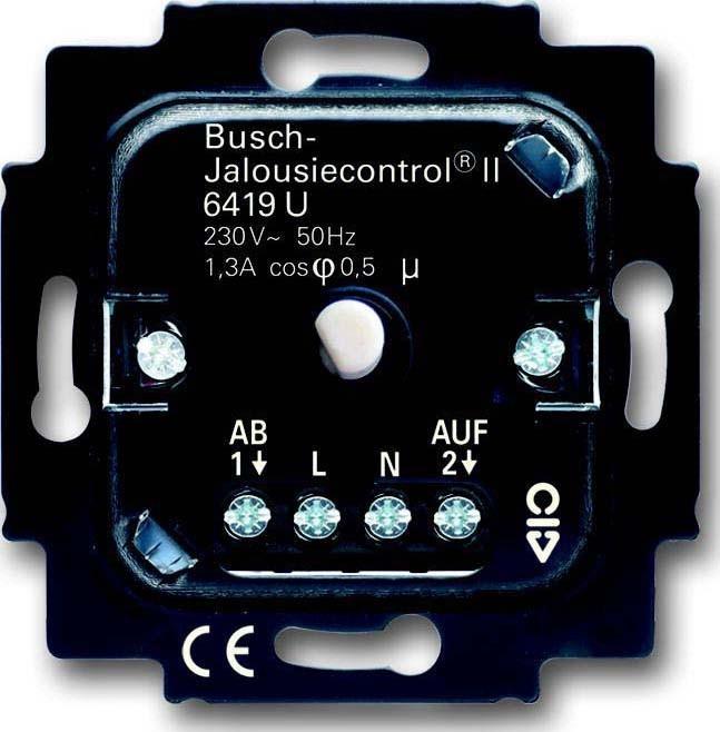 busch jaeger jalousie komfort einsatz 6419 u elektroartikel online shop. Black Bedroom Furniture Sets. Home Design Ideas