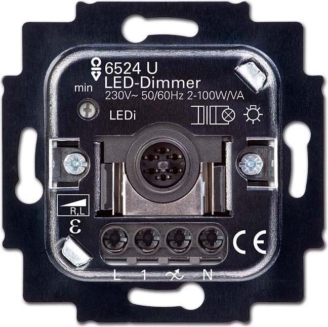 busch jaeger led dimmer 6526 u elektroartikel online shop. Black Bedroom Furniture Sets. Home Design Ideas