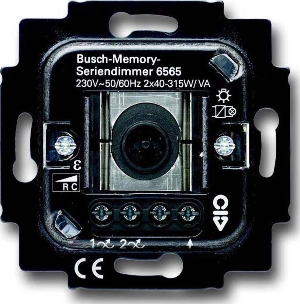 busch jaeger memory seriendimmer 6565 u. Black Bedroom Furniture Sets. Home Design Ideas