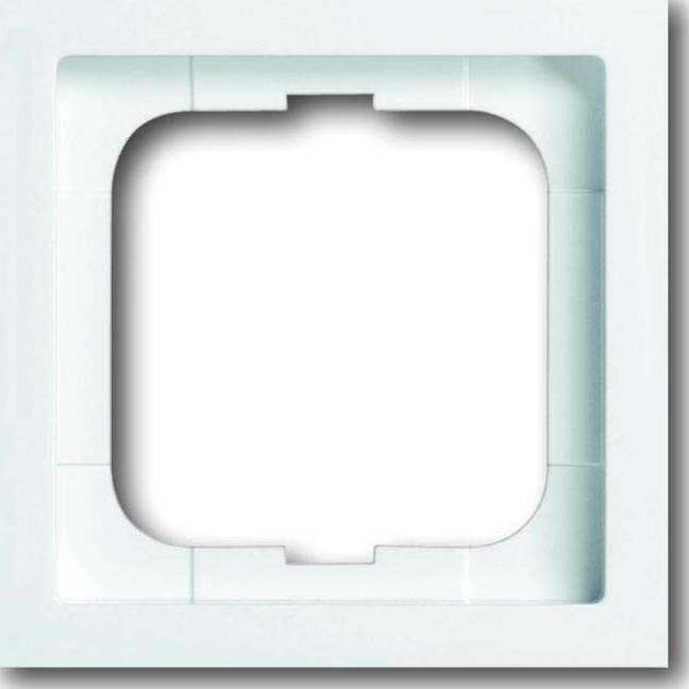 busch jaeger rahmen 1 fach 1721 184k elektroartikel online shop. Black Bedroom Furniture Sets. Home Design Ideas