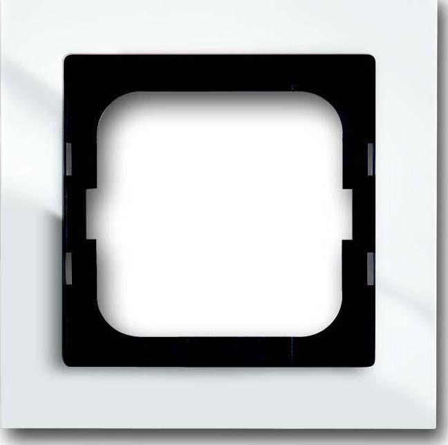 busch jaeger rahmen 1 fach 1721 284 elektroartikel online shop. Black Bedroom Furniture Sets. Home Design Ideas