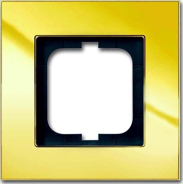 busch jaeger rahmen 1 fach 1721 823 101 elektroartikel online shop. Black Bedroom Furniture Sets. Home Design Ideas