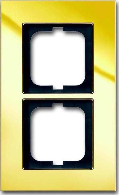 busch jaeger rahmen 2 fach 1722 823 101 elektroartikel online shop. Black Bedroom Furniture Sets. Home Design Ideas