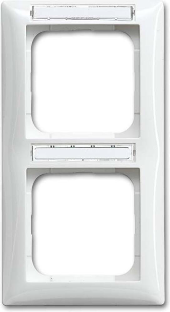 busch jaeger rahmen 2 fach 1722 ns 914 elektroartikel online shop. Black Bedroom Furniture Sets. Home Design Ideas