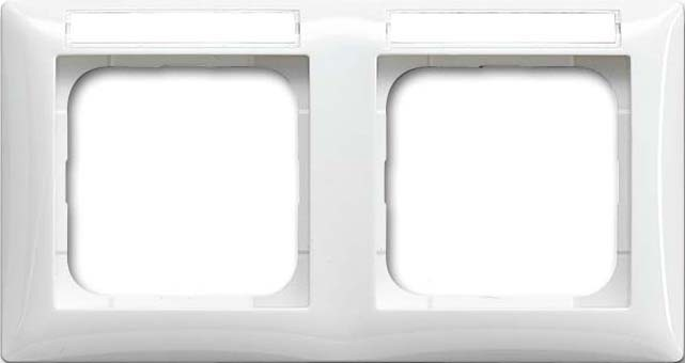 busch jaeger rahmen 2 fach 1732 ns 914 elektroartikel online shop. Black Bedroom Furniture Sets. Home Design Ideas