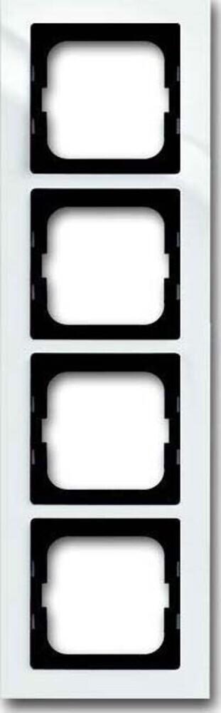 busch jaeger rahmen 4 fach 1724 284 elektroartikel online shop. Black Bedroom Furniture Sets. Home Design Ideas