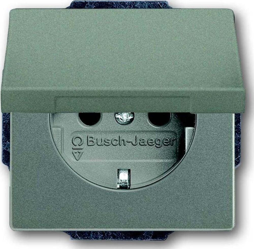 busch jaeger schuko r steckdosen eins 20 euk 803 elektroartikel online shop. Black Bedroom Furniture Sets. Home Design Ideas