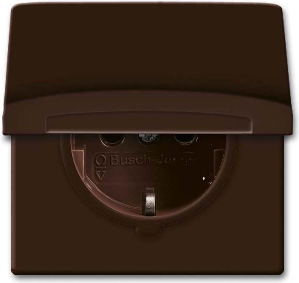 busch jaeger schuko steckdoseneinsatz 20 eugk 31 101 elektroartikel online shop. Black Bedroom Furniture Sets. Home Design Ideas