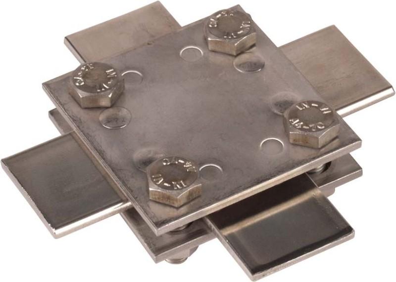 Kreuz-Erdungsverbinder für bandeisen 30mm
