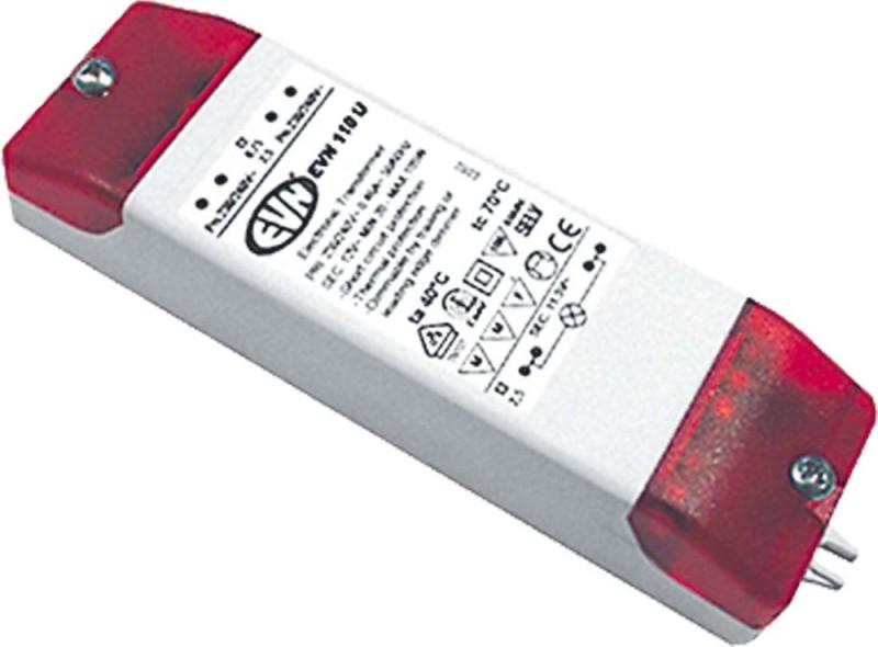 EVN Lichttechnik Trafo Laser 105 IP65 schwarz NV-Lichtsystem//NV-Halogenlampen