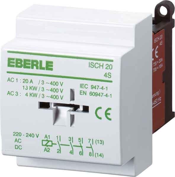 Eberle Controls Inst.-Schütz ISCH 20-4 S - Elektro4000.de ...