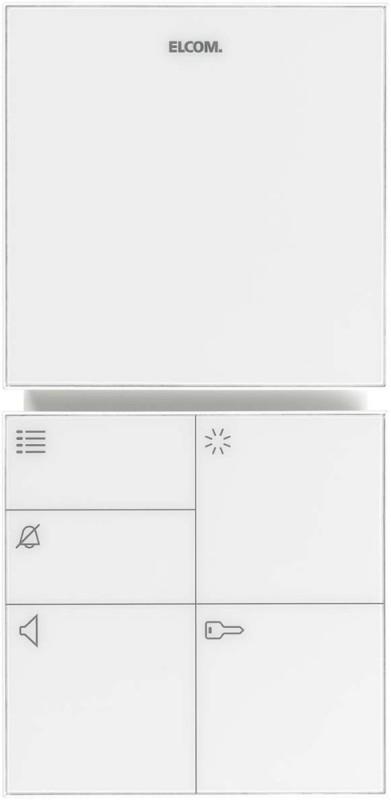 elcom freisprech haustelefon i2 bus bft 210 ws ebay. Black Bedroom Furniture Sets. Home Design Ideas