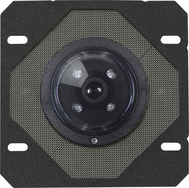 Elcom Türlautspr. Kameramodul BTC -500 schwarz Tür- Videosprechanlage 1816500