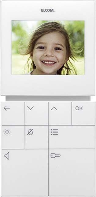 elcom video freispr hausstation bvf 510 ws elektroartikel online shop. Black Bedroom Furniture Sets. Home Design Ideas