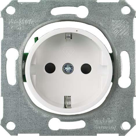 elektroweiß Elso enchufe PW 225210 cubierta crema blanco enchufes conector