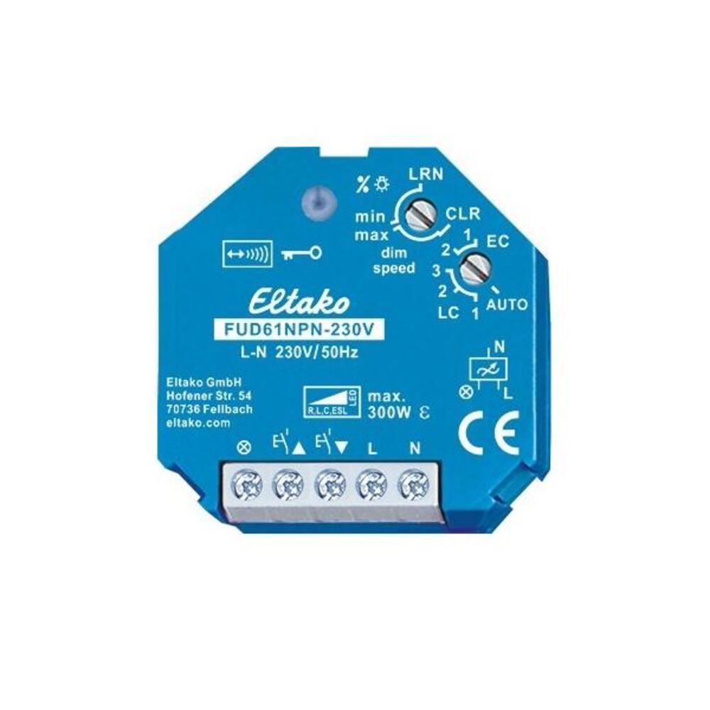 Eltako Universal-Dimmschalter EUD61NPL-230V Mindestlast nur 4 W
