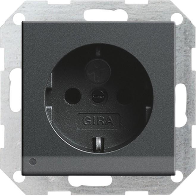 gira schuko steckdose anth 117028 elektroartikel online shop. Black Bedroom Furniture Sets. Home Design Ideas