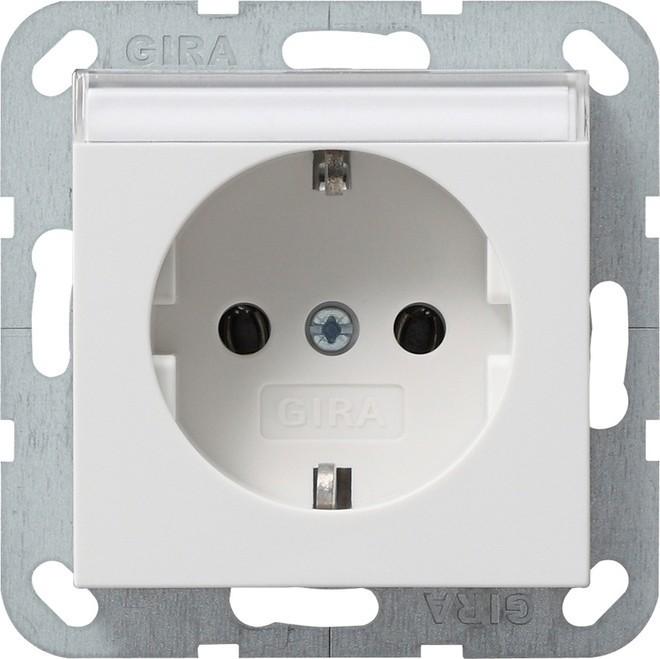 gira schuko steckdose rws 045727 elektroartikel online shop. Black Bedroom Furniture Sets. Home Design Ideas