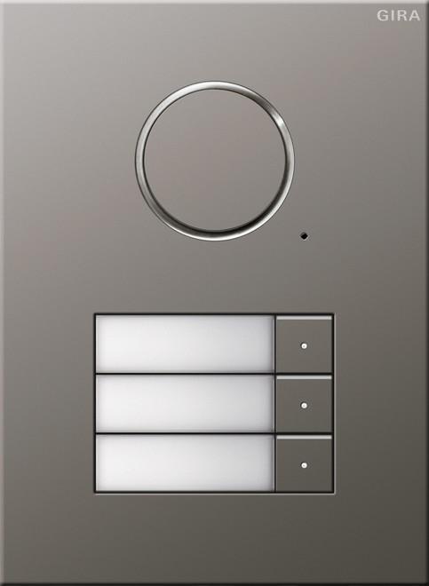 gira t rstation audio 3fach eds 250320. Black Bedroom Furniture Sets. Home Design Ideas