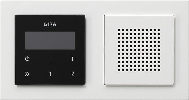 gira unterputz radio rds 049572 elektroartikel online shop. Black Bedroom Furniture Sets. Home Design Ideas