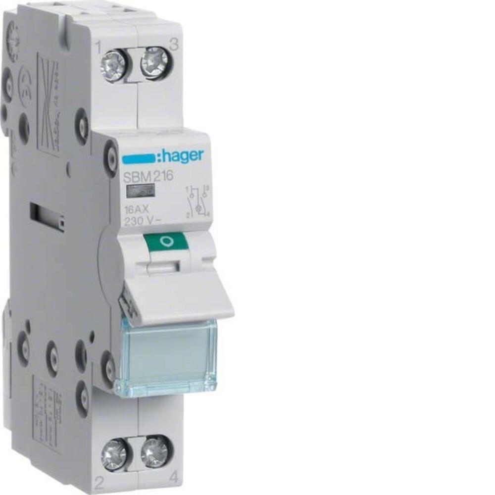 Ausschalter mit LED ABB E211X-16-10 16A 250 V~ Schalter Ein-