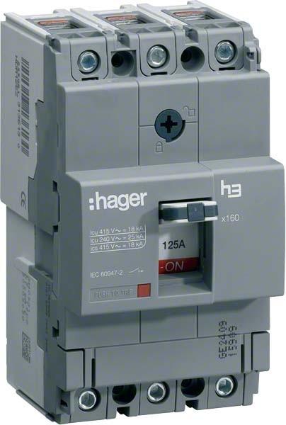 Hager Leistungsschalter HHA041H IP40 automatische Sicherungsautomat Sicherung