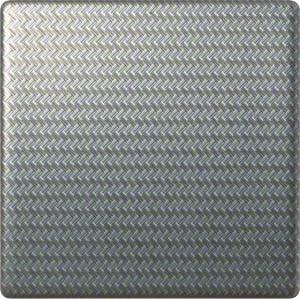 Hager Wippe alu liniert WYA066A3 IP20 Taster Silber Schalter Exclusiv-Design