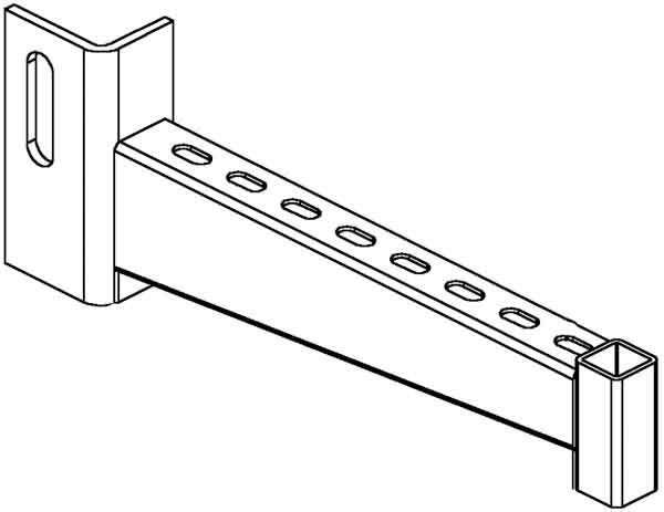 Niedax Ausleger KTUG 300 Ausleger Stahl Ausleger | Vielfältiges neues Design