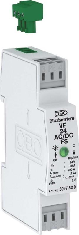 OBO Bettermann Blitzbarriere VF48-AC DC-FS IP20 Informations- MSR-Technik | Die erste Reihe von umfassenden Spezifikationen für Kunden