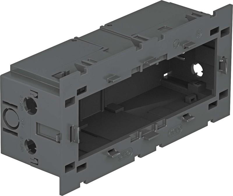 OBO Bettermann Geräteeinbaudose 3fach 160x76x51mm gr 71GD9-2