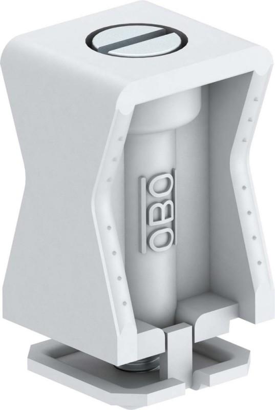 10x OBO Bettermann Druck Iso Schelle 3049  6-12mm lichtgrau Kabelschelle
