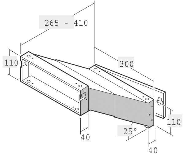 renz metallwaren einbau briefkasten 14 1 21223 vz. Black Bedroom Furniture Sets. Home Design Ideas