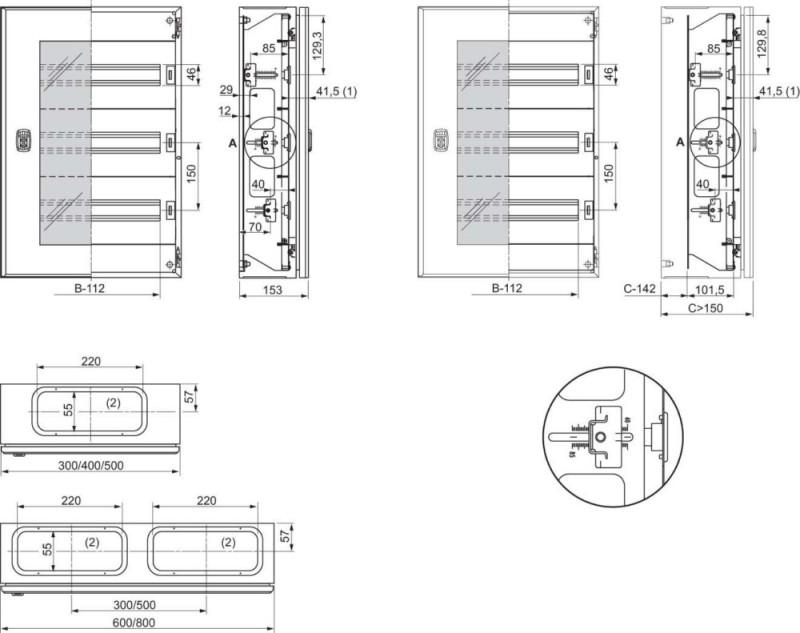 Schneider Electric Automatenabdeckung NSYDLM48 - Elektro4000.de ...