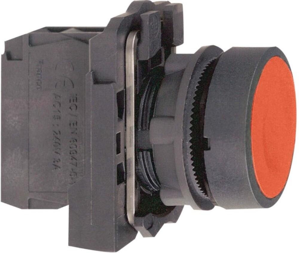 Schneider Electric Drucktaster flach, rt, 1Ö XB5AA42