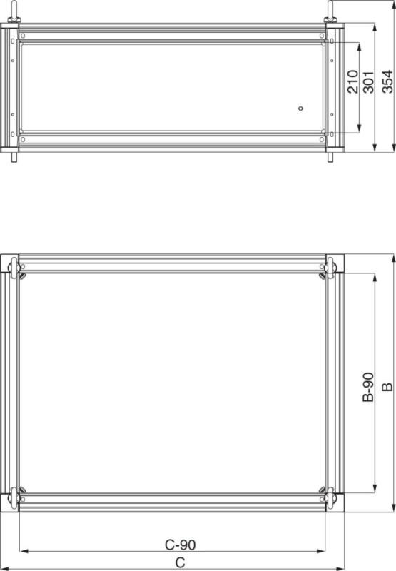 schneider electric sammelschienenraum sf ip66 nsytbc365. Black Bedroom Furniture Sets. Home Design Ideas