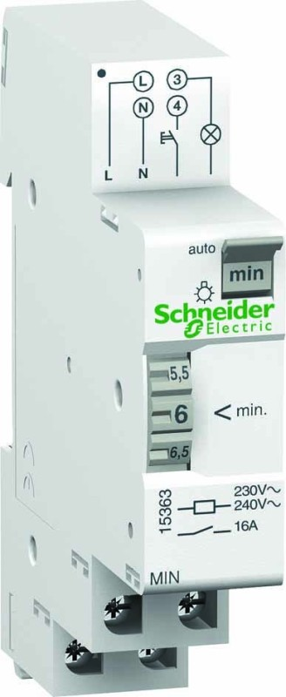schneider electric treppenlichtautomat 15363 elektroartikel online shop. Black Bedroom Furniture Sets. Home Design Ideas