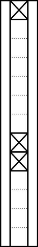 Siedle&Söhne Kommunikations-Display KSA 613-1 0 2-0 SM Silber Montageelemente
