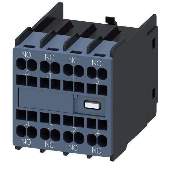 Siemens Indus.Sector Hilfsschalterblock 2S+2Ö 3RH2911-2FA22