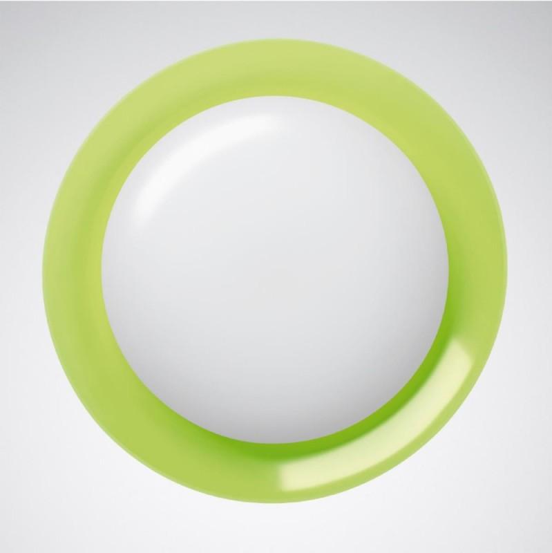Trilux Dekor-Ankleidung 074R WD2 # 6913600 grün Zubehör Kunststoff